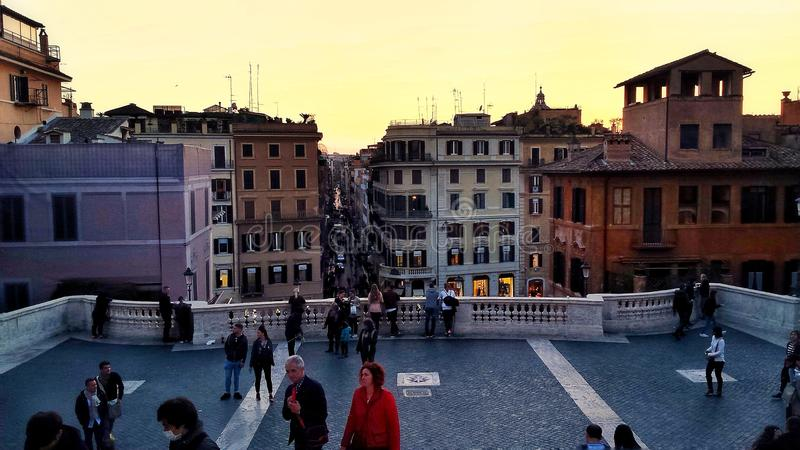 Piazza di Spagna stock photography