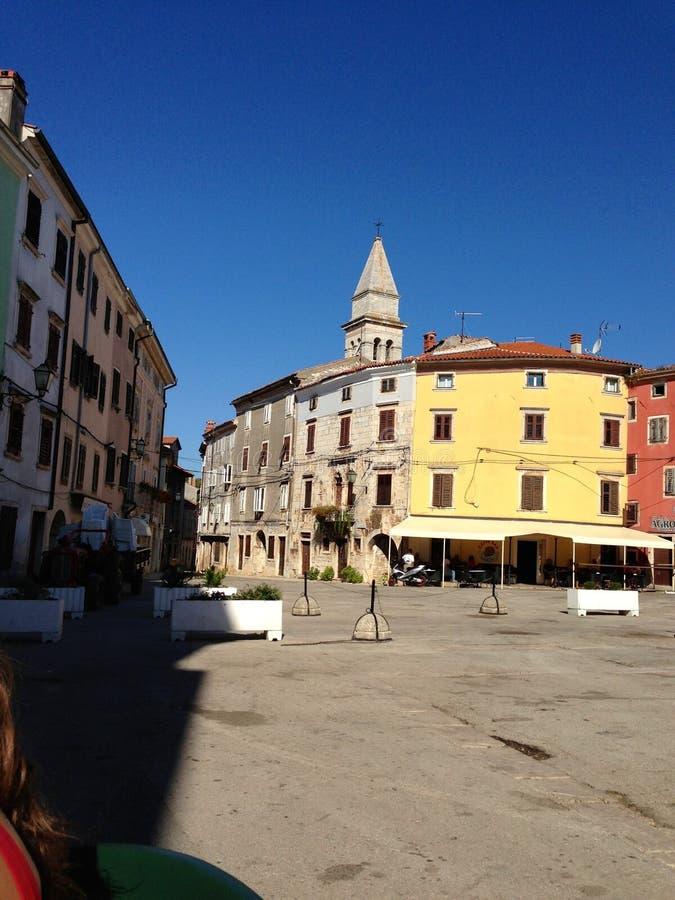 Piazza Dignano stock afbeeldingen