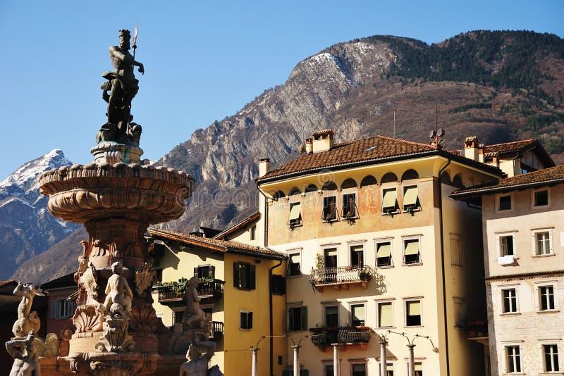 Piazza Duomo Trento royalty free stock photos