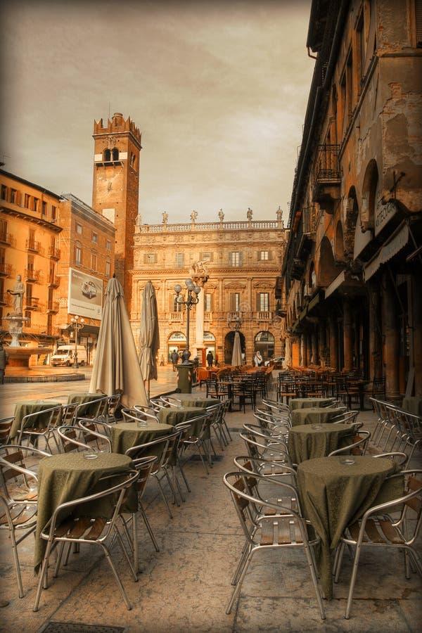 piazza erbe zdjęcie royalty free