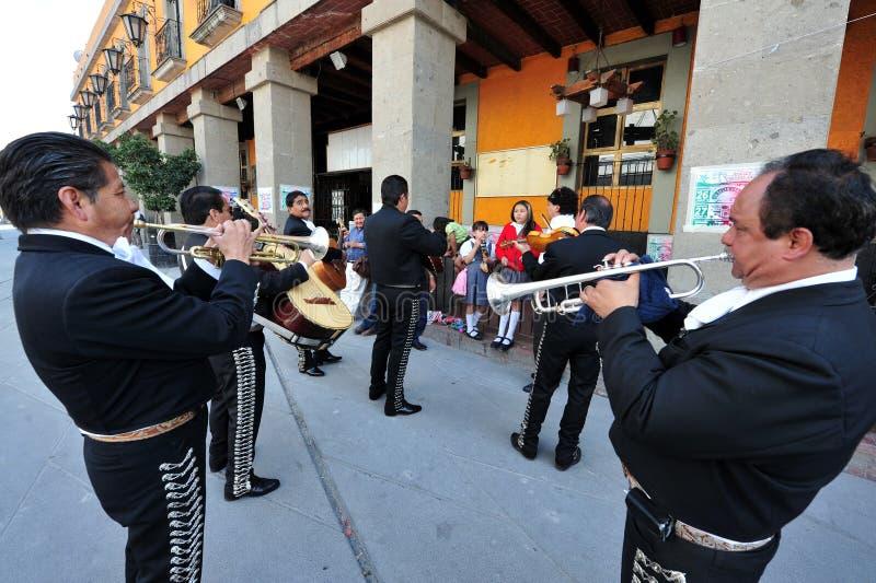 Piazza Garibaldi - Mexiko City lizenzfreie stockfotografie