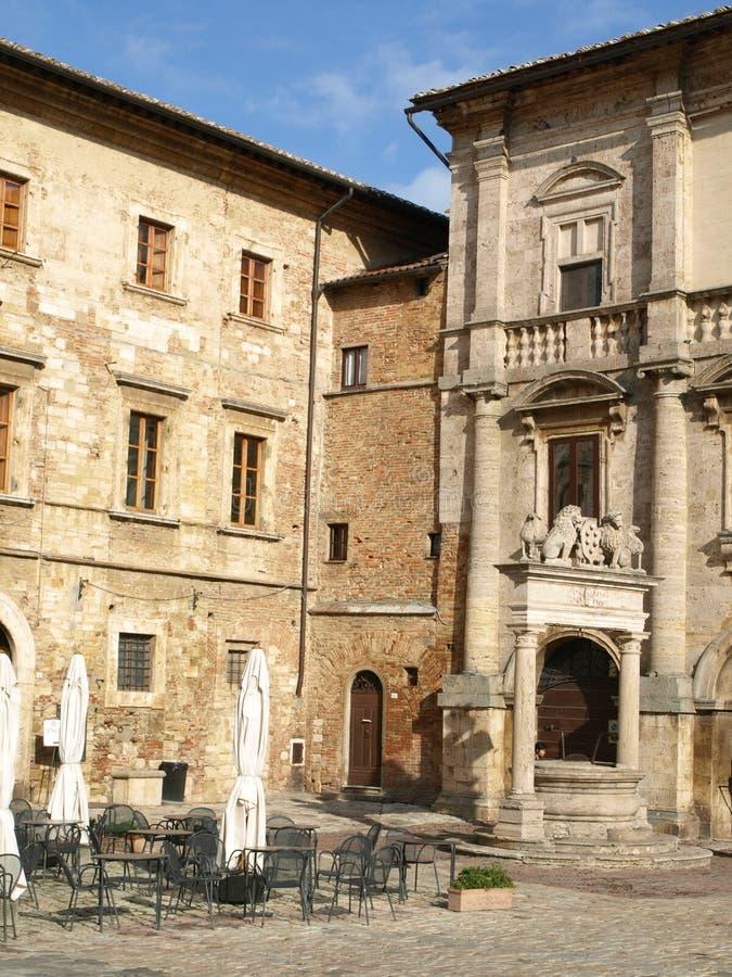 Download Piazza Grande stock image. Image of palazzos, tuscan - 29008667