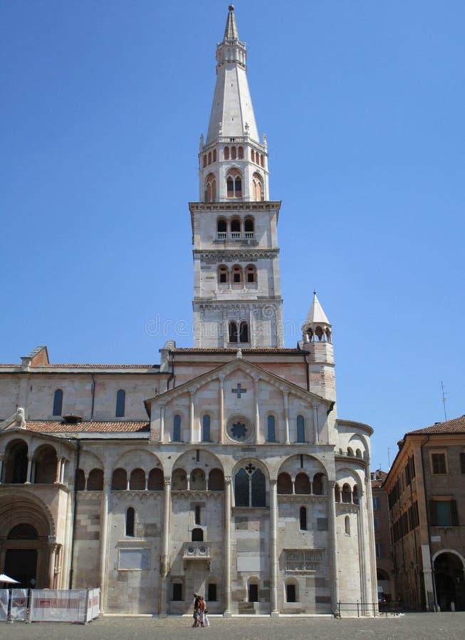 Piazza Grande de Modena fotos de stock royalty free