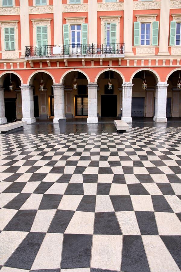 Piazza Massena Quadrat stockfotografie