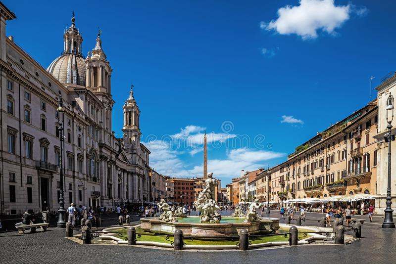 Piazza Navona images stock