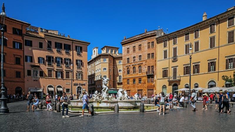 Piazza Navona photo libre de droits