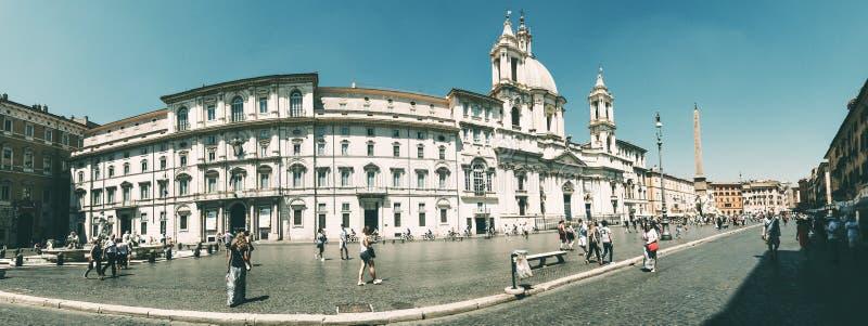 Piazza Navona royalty-vrije stock fotografie