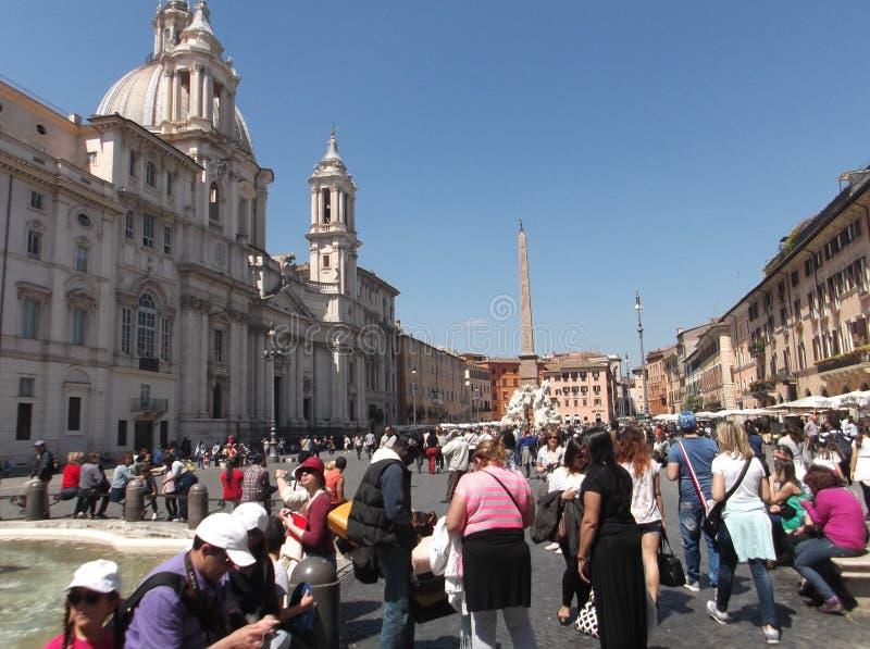 Piazza Navona stock afbeeldingen
