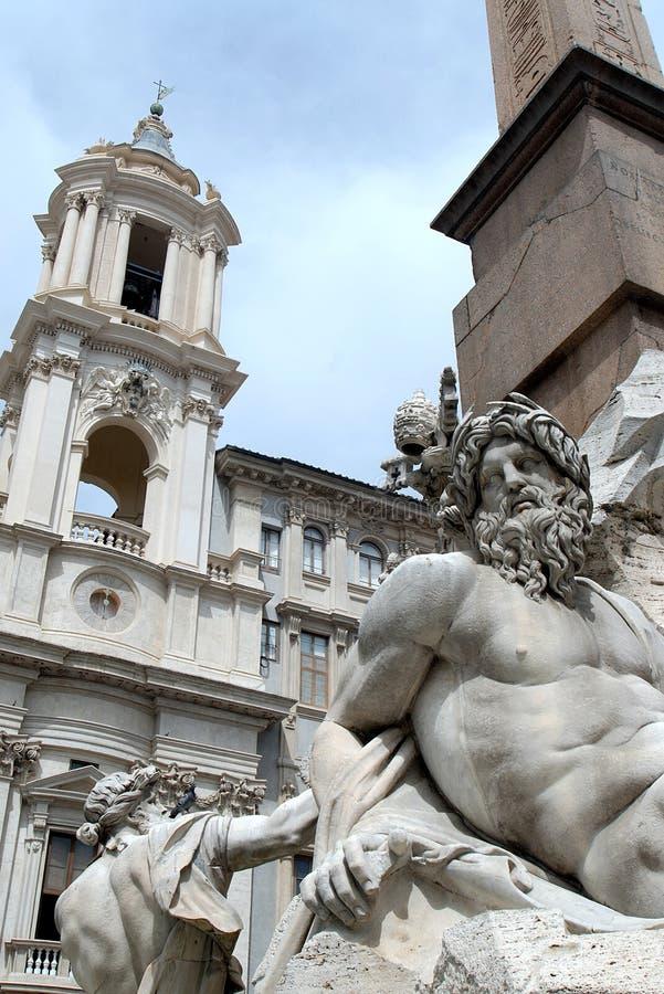 Free Piazza Navona Royalty Free Stock Photos - 940848