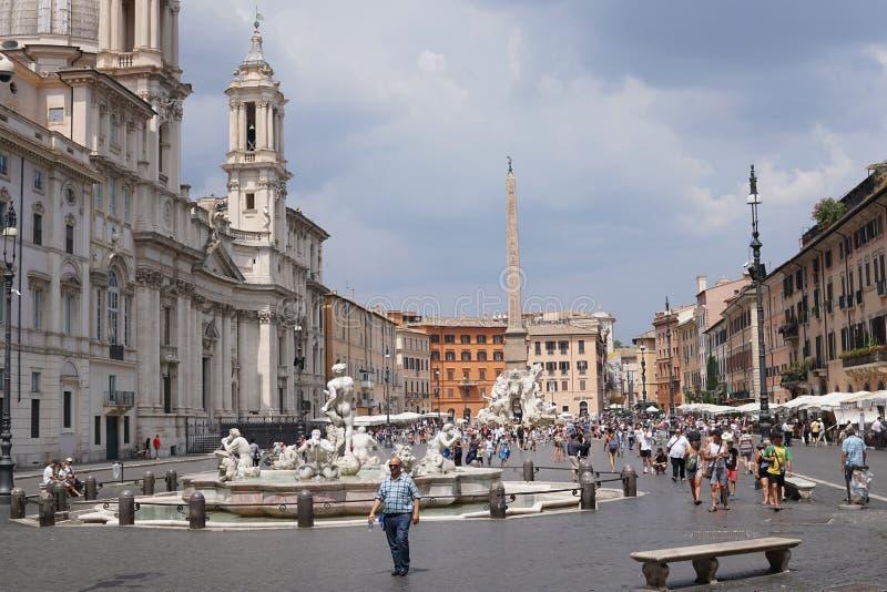 Piazza Navona photographie stock
