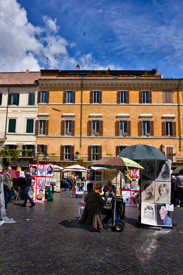 Download Piazza Navona In Rome Italy Editorial Stock Photo - Image: 33816873
