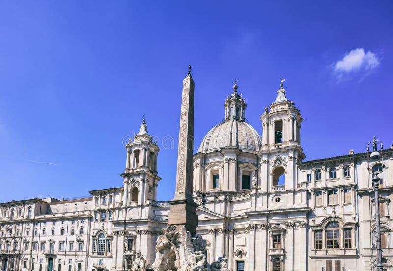 Piazza Navona - Rome, Italy. Rome, Italy - Navona square Piazza Navona royalty free stock photos