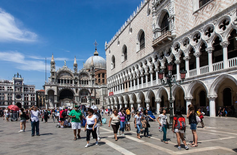 Download Piazza San Marco editorial photography. Image of destination - 26386097
