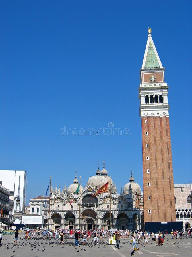 Piazza San Marco royalty-vrije stock foto's