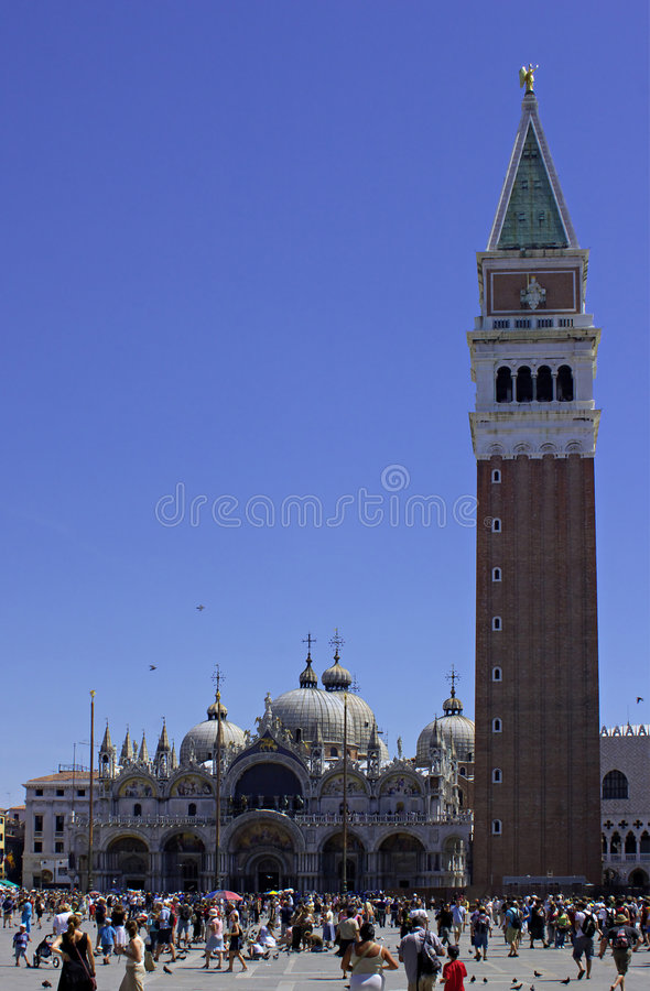 Piazza San Marco (St. Marks' Square) stock photo