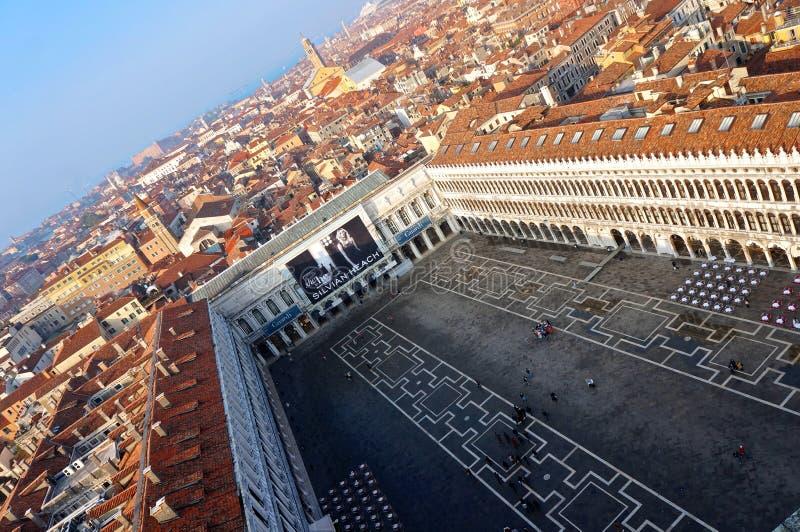 Piazza San Marco - Venezia fotografie stock