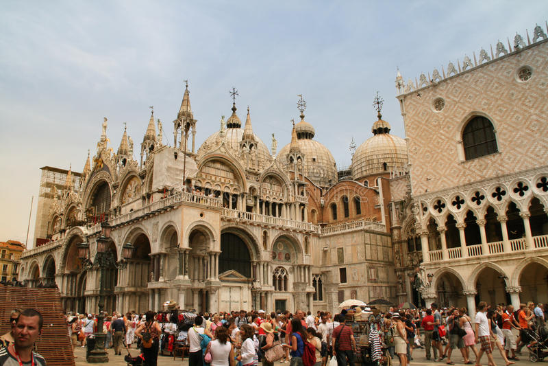Piazza San Marco, Venice Editorial Stock Image