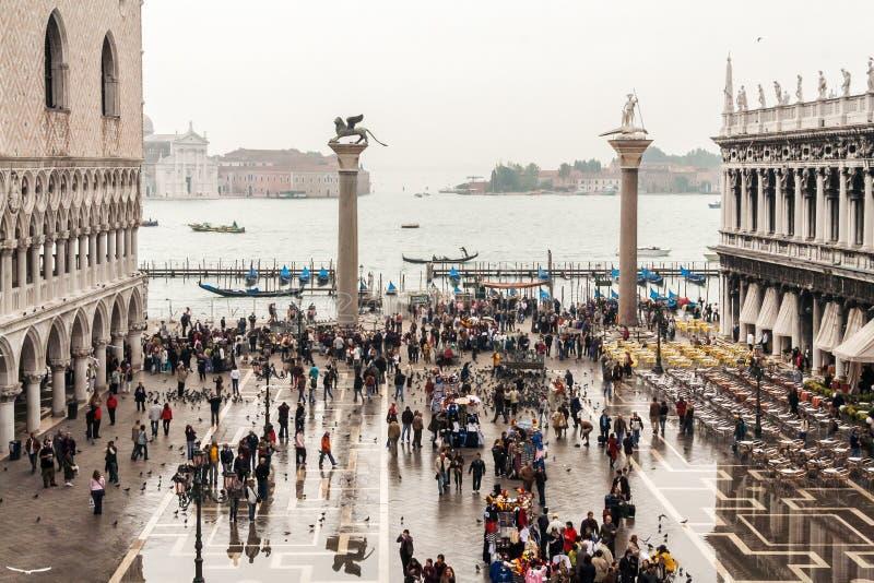 Piazza San Marco Venice fotografie stock libere da diritti