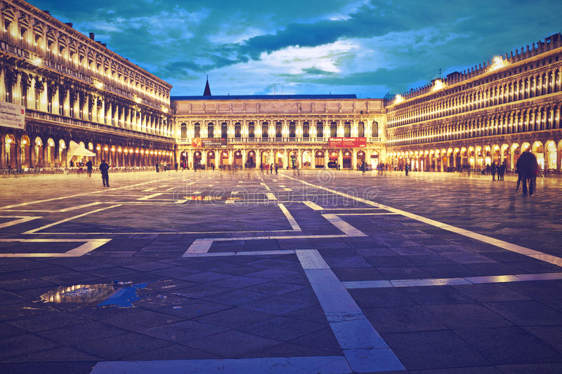 Piazza San Marco Venice royalty free stock image
