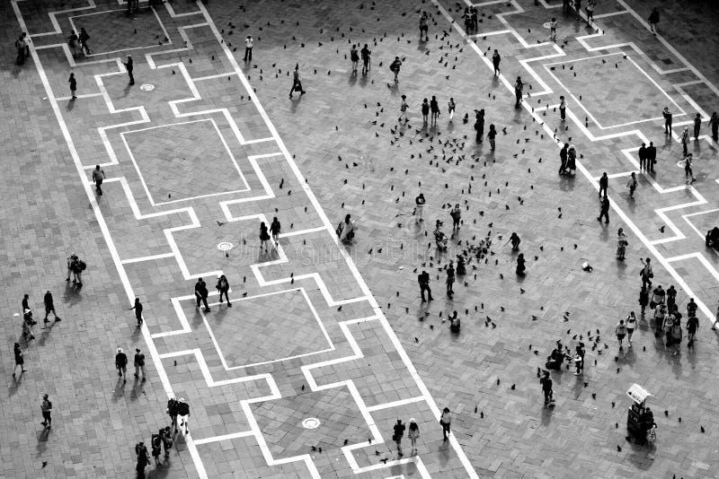 Piazza San Marco, Venise, Italie image libre de droits