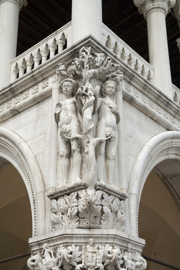 Piazza San Marko, Venetië stock foto's