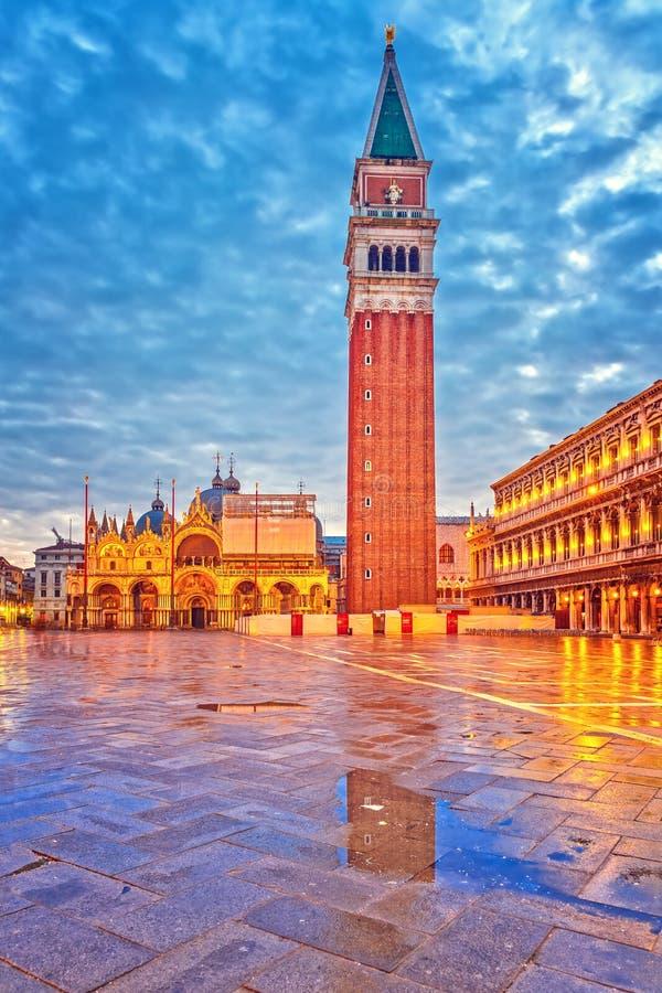 Piazza San Marko, Venetië royalty-vrije stock afbeeldingen