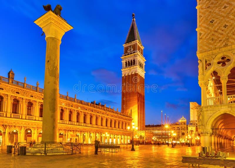 Piazza San Marko, Venetië stock afbeeldingen