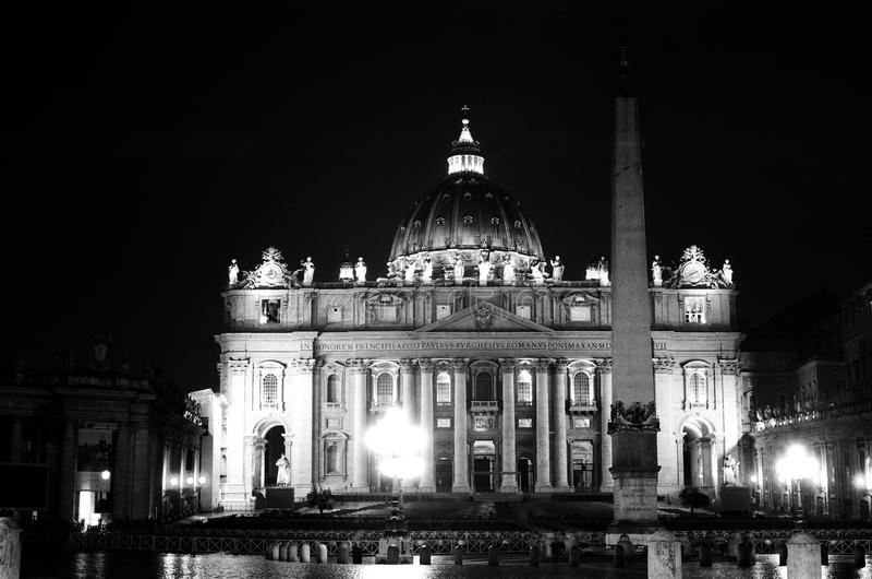 Piazza San Pietro Stock Photo