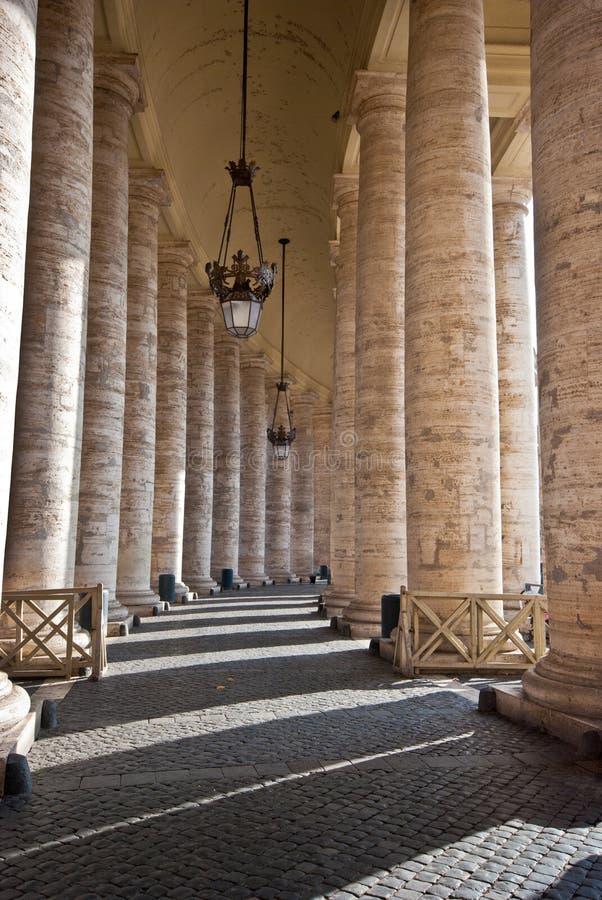 Piazza San Pietro photo stock