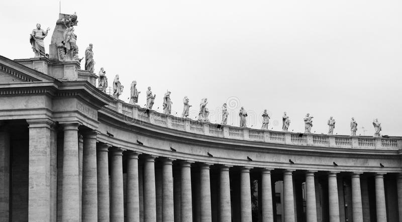 Piazza San Pietro, Vatican images stock