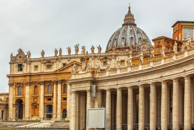 Piazza San Pietro, Vatican image stock