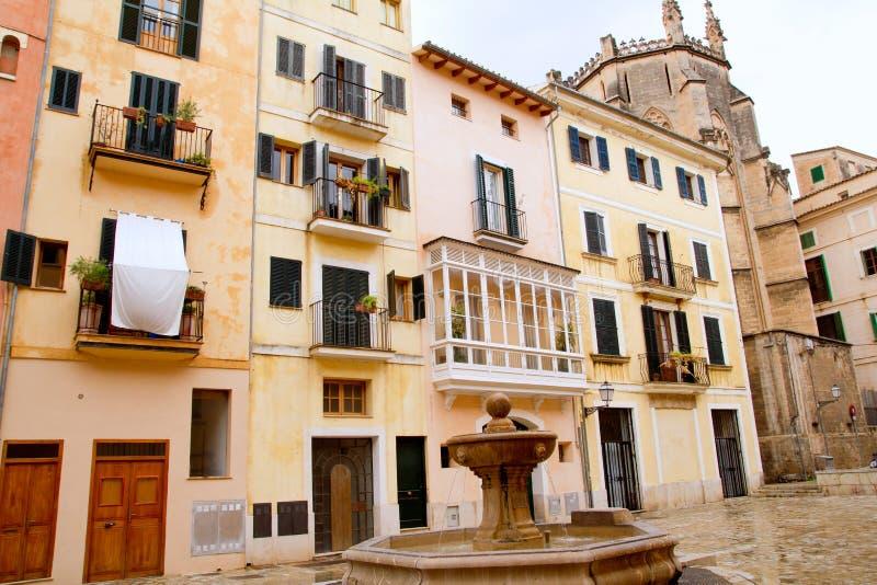 Piazza sant Jeroni in Majorca lizenzfreies stockfoto