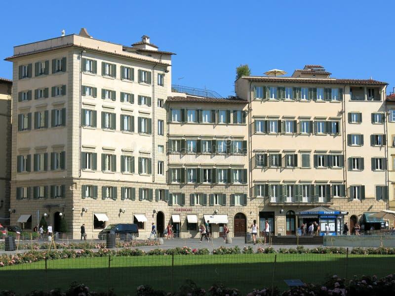 Piazza Santa Maria Novella, Florence stock photography