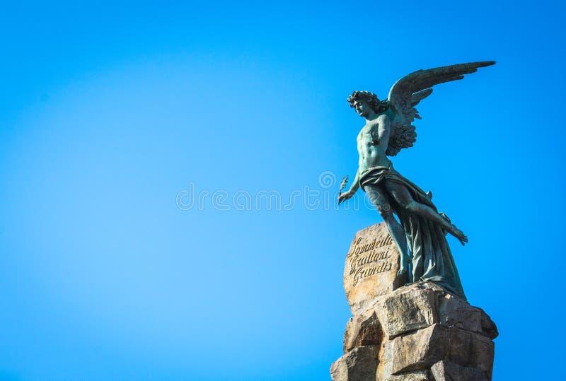 piazza statuto obrazy royalty free