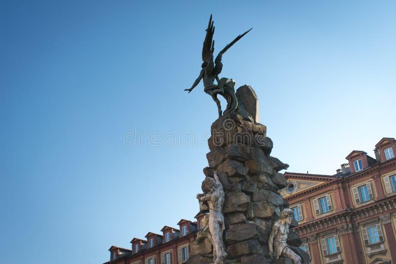 piazza statuto obrazy stock