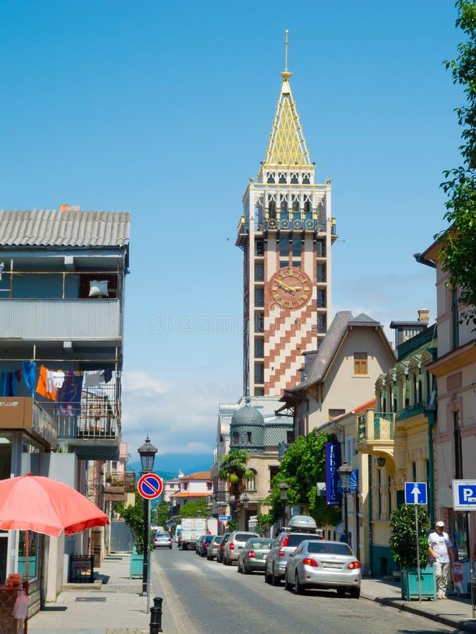 Piazza Tower In Batumi Editorial Stock Image