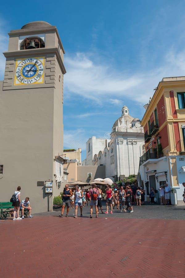 Piazza Umberto I image libre de droits