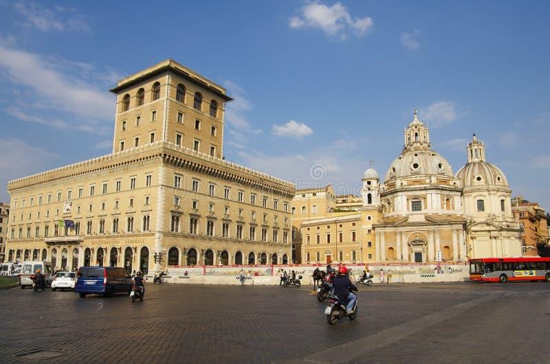 Piazza Venezia photo libre de droits