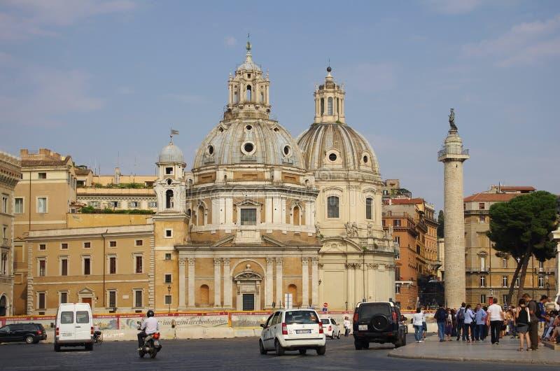 Piazza Venezia stock fotografie