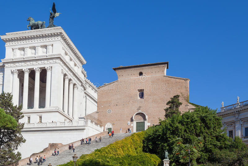 Piazza Venezia image libre de droits