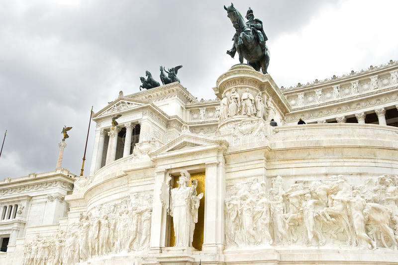 Download Piazza Venezia In Rome, Italy Royalty Free Stock Photos - Image: 15357898