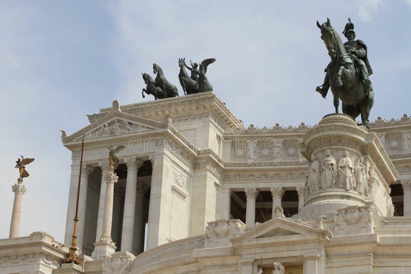 Piazza Venezia, Rome. The Victor Emmanuel Monument. Piazza Venezia, Rome, Italy stock images