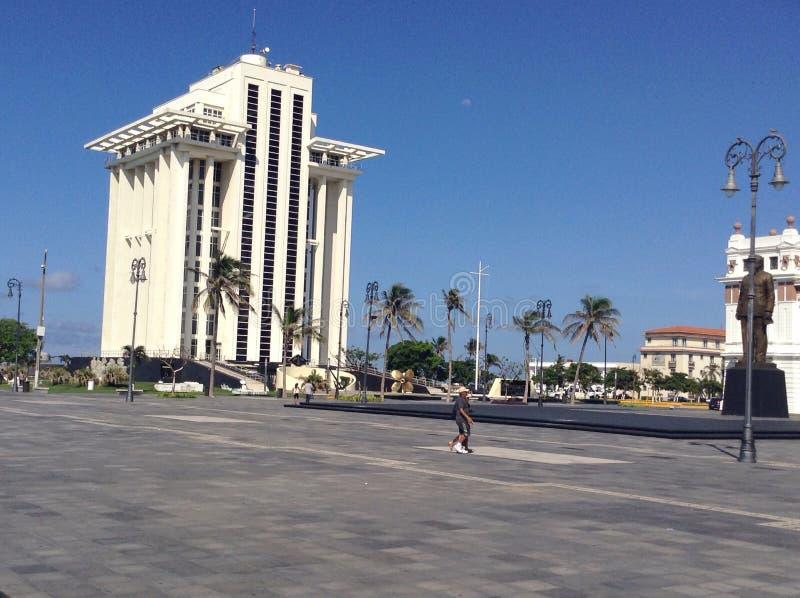 Piazza Veracruz stockfotografie