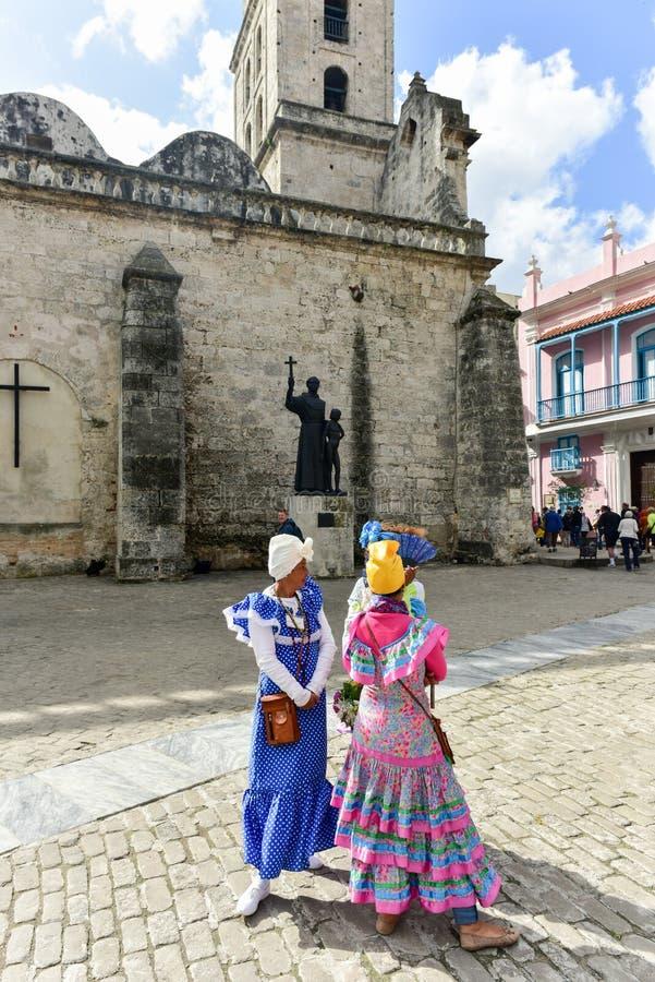 Piazzade San Francisco - Havana, Kuba stockfoto