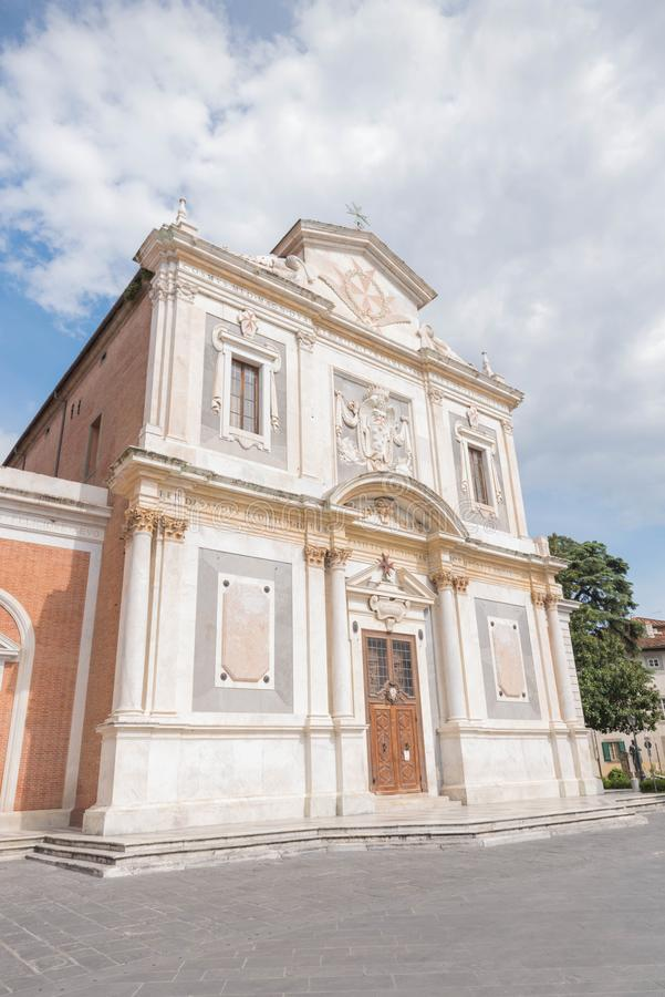 Piazzadei Cavalieri i Pisa royaltyfria bilder