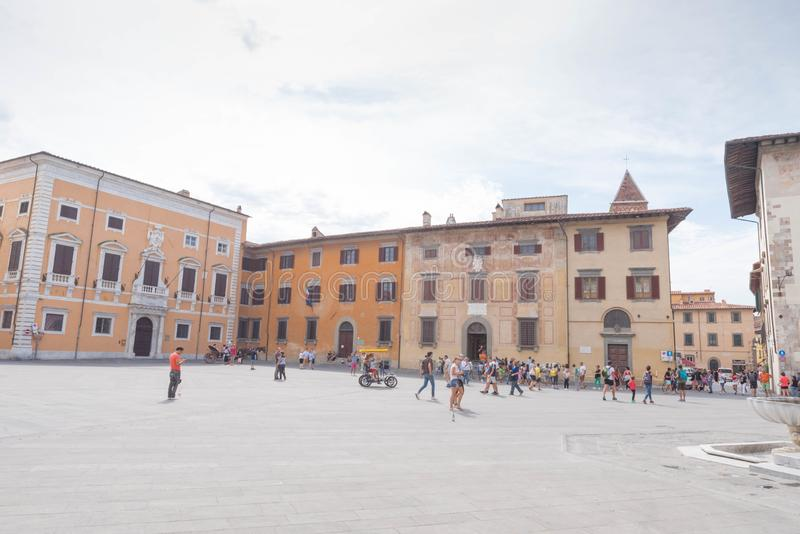 Piazzadei Cavalieri i Pisa royaltyfri foto
