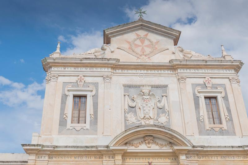 Piazzadei Cavalieri i Pisa arkivfoton