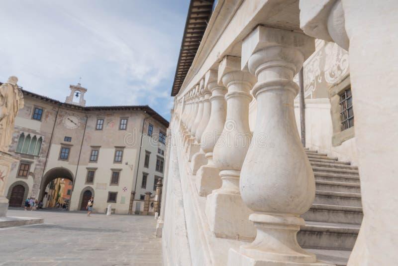 Piazzadei Cavalieri i Pisa arkivfoto