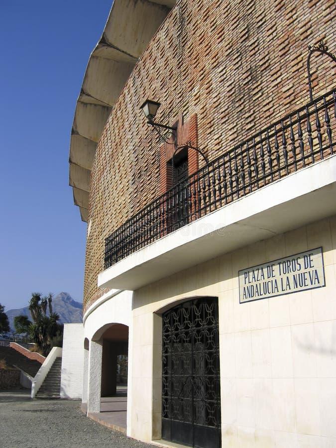 Piazzadel Toros nueva Andalusien lizenzfreie stockfotografie
