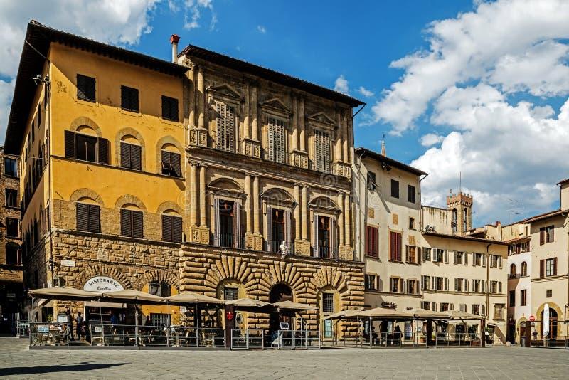 Piazzadella Signoria royaltyfria foton